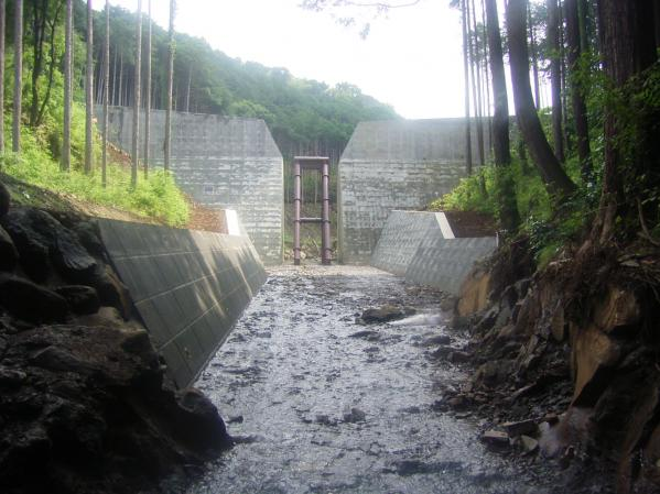 平成19年度入田川砂防工事(えん堤工):眞田建設